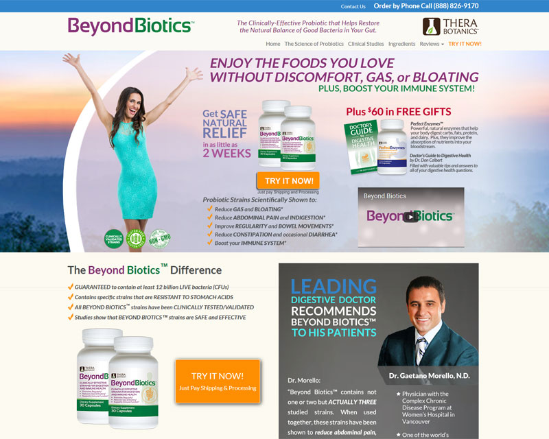 Beyond Biotics