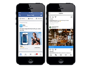 Facebook and Instagram advertising services