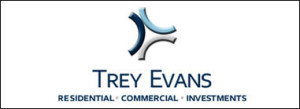 Trey Evan Real Estate Logo Design